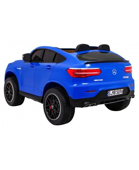 Elektrické autíčko Mercedes GLC 63S modré
